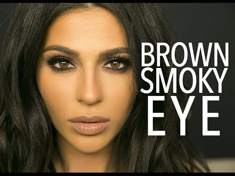 Here's a brown smokey eye makeup look for ya! I kept the colors neutral but made the eye makeup pretty dramatic. I hope you love it! Please like and subscrib...