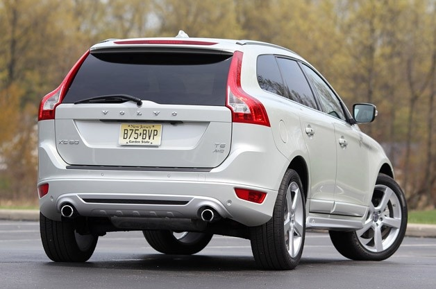 2012 Volvo XC60 R-Design rear