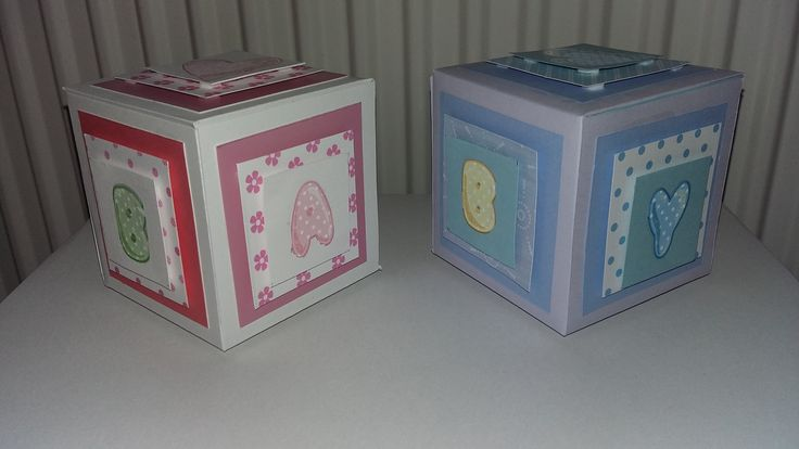 Small gift boxes for babies