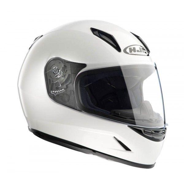 Casque Hjc CLY Blanc - Speedway #Casque #Speedway #enfant #moto #blanc