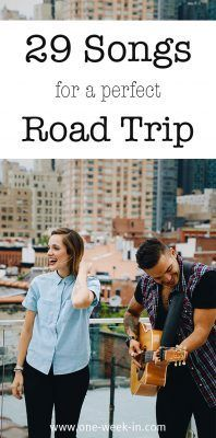 29 Songs about Traveling and Adventure - The Perfect Road Trip Songs #roadsongs #travelmusic #travelplaylist