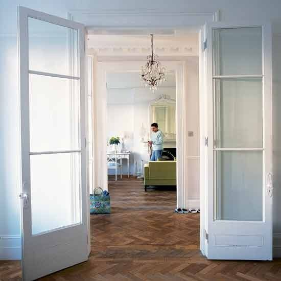 Beautiful parquet floor