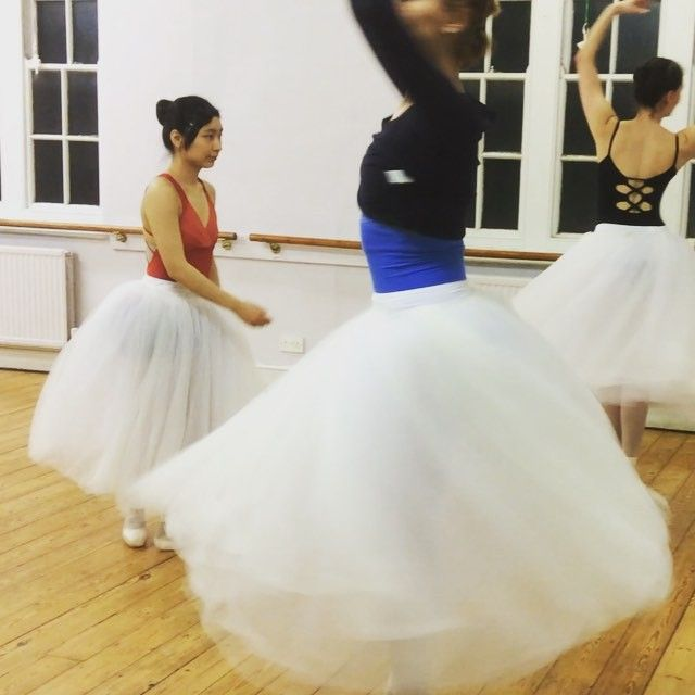 Another test drive of costume skirts. #ballet #adultballet #oxford #lifeofadancer #YKBG