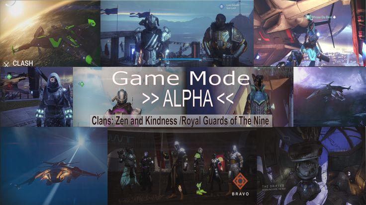 Game Mode Alpha group