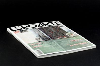 Cover @espoarte numero 88  #Arte #Typography #Cataloghi #GraphicDesign #Photography #Fotografia #PhotoBook #EditorialDesign #Art