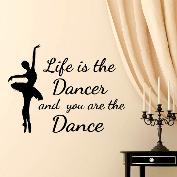 Quotes Life Dancing: Best 25+ Wall Decal Quotes Ideas On Pinterest