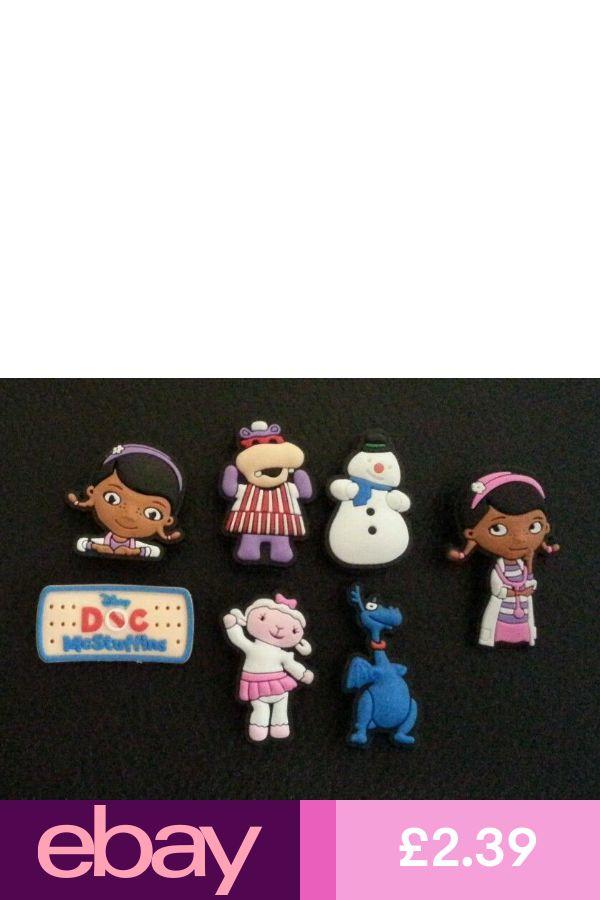 7 x Disney Doc McStuffins Croc Shoe Charms Jibbitz Wristbands charm Crocs