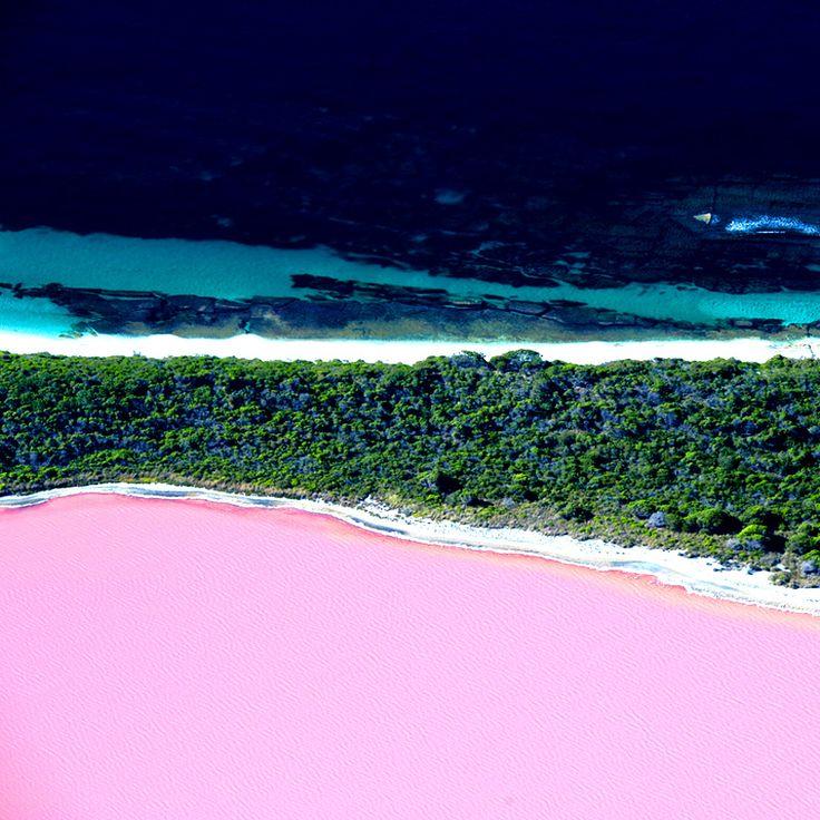 Pink Lake Retba, Senegal / Розовое озеро Ретба, Сенегал, Африка