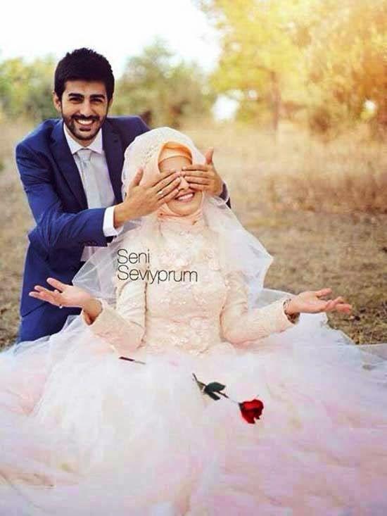 Anugerahilya Foto Video: 105 Foto Pengantin Muslim Romantis