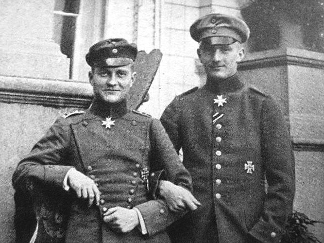 Manfred and Lothar von Richthofen