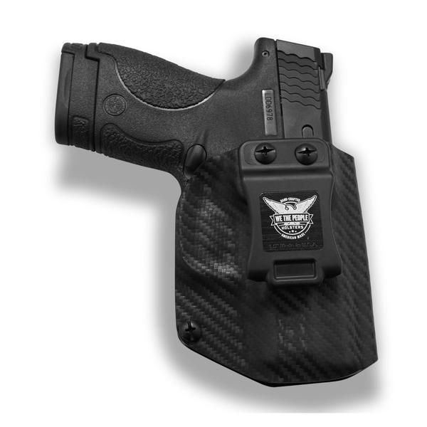 9MM Black IWB Concealed Carry Gun holster fits S/&W M/&P Shield 40