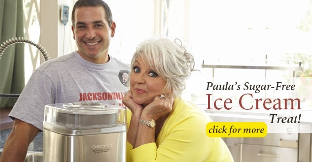Paula's Sugar-Free Ice Cream Treat!