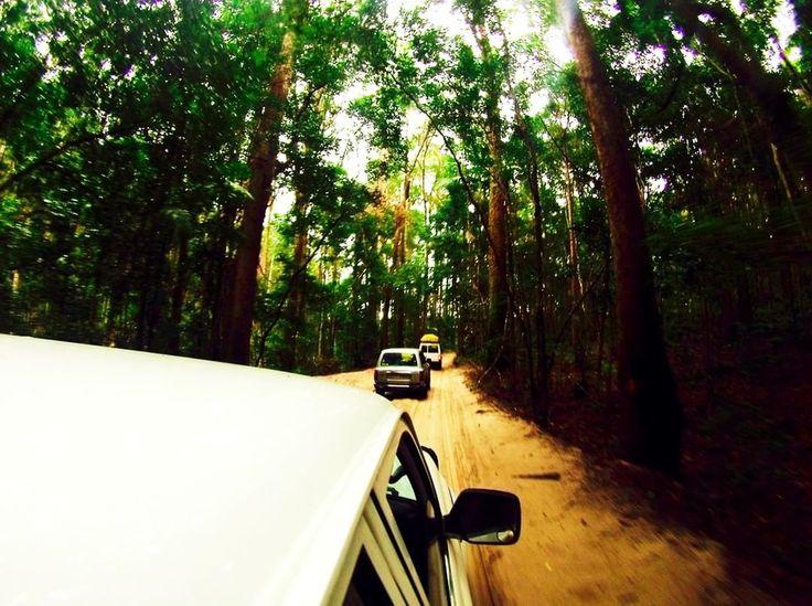 Fraser island adventures, Australia.