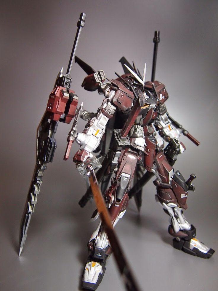 "MG 1/100 Gundam Astray Red Frame ""Shinobu"" Custom Build - Gundam Kits Collection News and Reviews"
