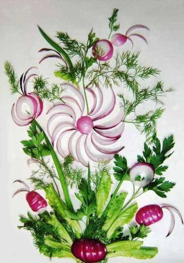 Design Vegetable Garden Painting Gorgeous Inspiration Design