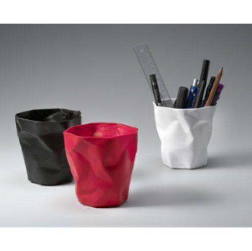 Essey Red Pen Pot: Amazon.co.uk: Kitchen & Home