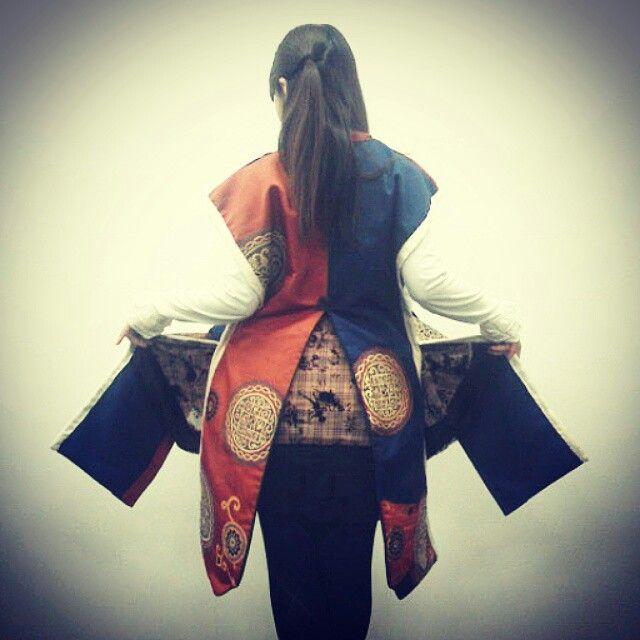 洋装×陣羽織=cawaii!!