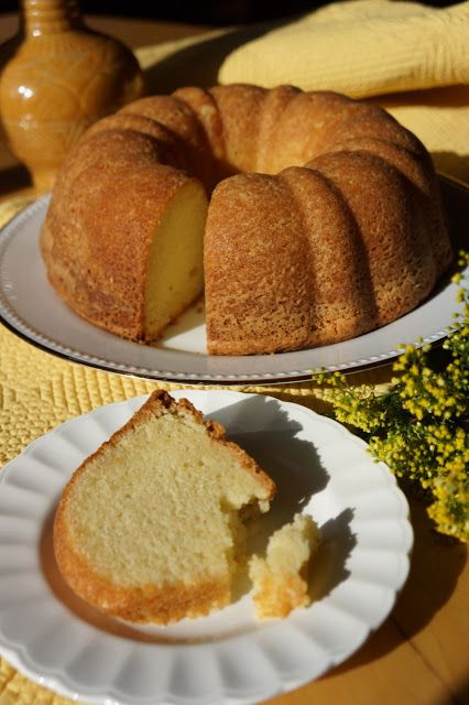 Five-Flavor Pound Cake ~ This is now one of my new favorite pound cake recipes.  I love the combination of flavors - vanilla, lemon, rum, coconut & almond, the tenderness, moistness & texture of the crumb are sublime. Plus, the crust has a wonderful buttery crunch.  This cake holds up well even 4 or 5 days after you bake it, but I doubt it will last that long & I rate this cake a 5 out of 5!