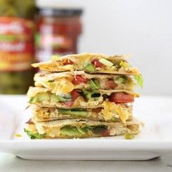 Spicy Chicken Chicken Quesadilla Sandwich