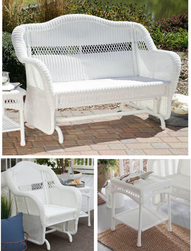 Wicker Patio Furniture Red Cushions: Best 25+ Resin Wicker Patio Furniture Ideas On Pinterest