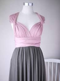 Image result for two color dress knee length