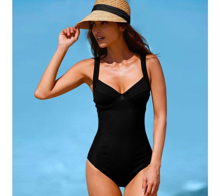 Jednodielne tvarujúce plavky, s kosticami | blancheporte.sk #blancheporte #blancheporteSK #blancheporte_sk #swimsuit