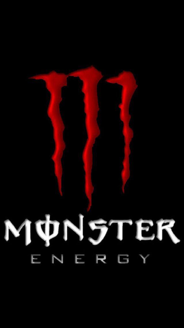 Red monster energy