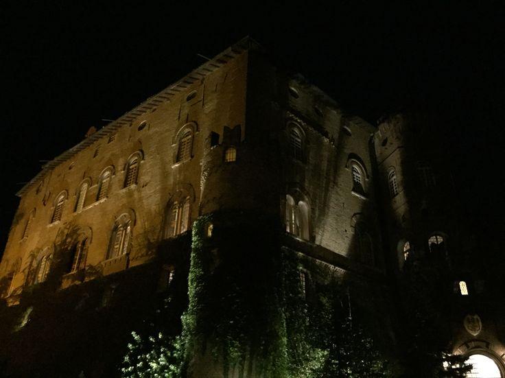 Oviglio Castle with the Team