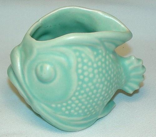 McCoy pottery fish planter...