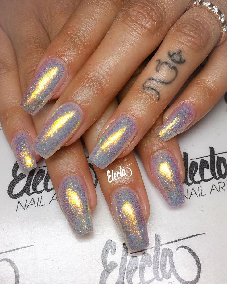 Crystal Chrome Nails: 25+ Best Ideas About Powder Nails On Pinterest