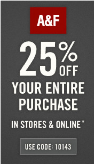 picture relating to Hollister Printable Coupon titled Abercrombie printable coupon november 2018 / Berlin metropolis