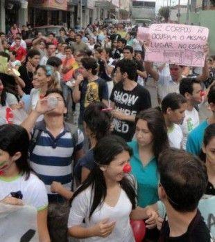 manifestantes UFC e IFCE  #UFCQuixada #trabalhodd #Yunit