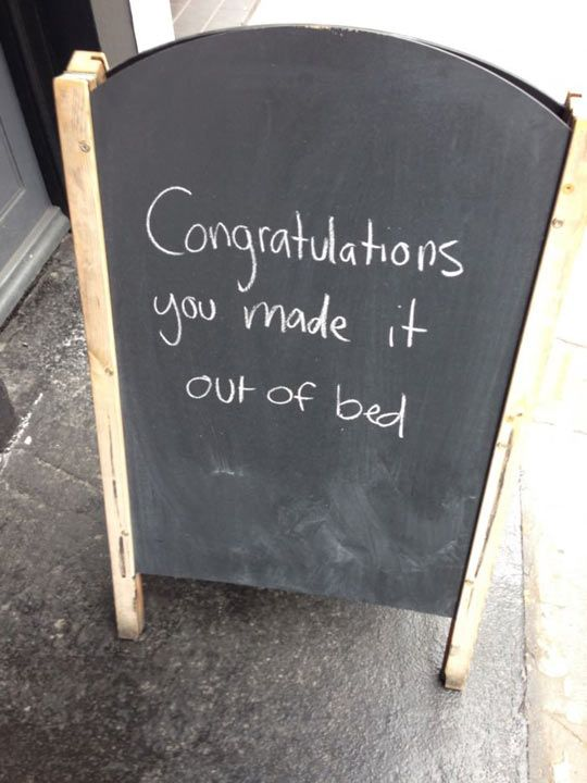 Outside Of a Coffee Shop // funny pictures - funny photos - funny images - funny pics - funny quotes - #lol #humor #funnypictures