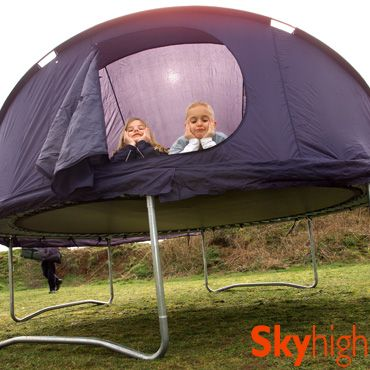 8ft Trampoline Tent--little kid me would have LOVED this!