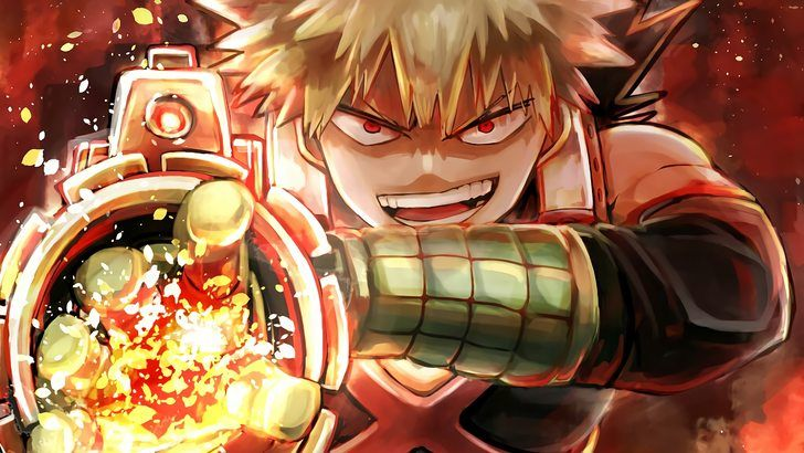Katsuki Bakugo My Hero Academia Anime Wallpaper Aesthetic Anime Hero Wallpaper My Hero Academia