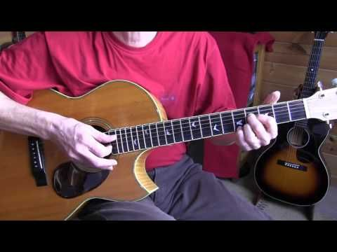 """Lesson """"Johnny Shines"""" acoustic blues playing in E - Free TAB - YouTube"""