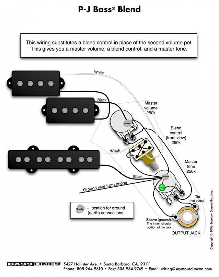Newest Fender P J Bass Wiring Diagram 7742 Pj 3