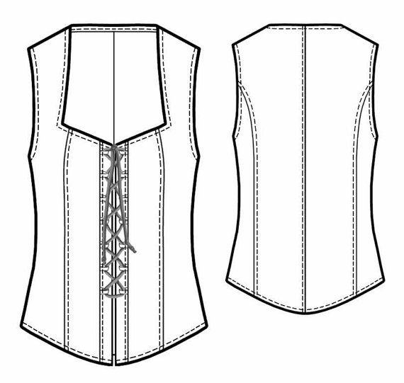 Custom sized sewing pattern. Sizes available: ladies sizes.  - - - - - - - - - - - - - - - - - - - - - - - - - - - - - - - - - - - - - - - - - - - - -