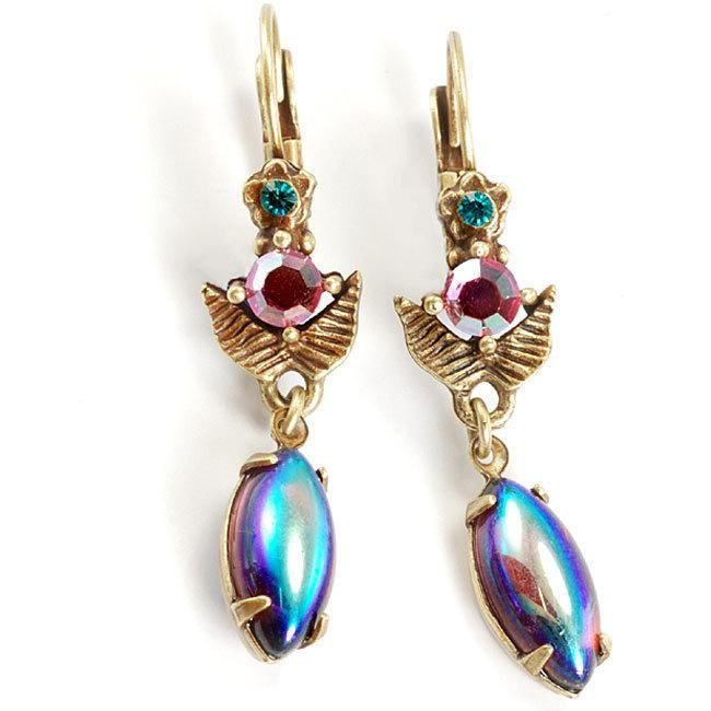 Sweet Romance Tropical Iridescent Earrings