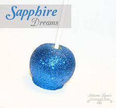 royal blue candy apple favors - Google Search