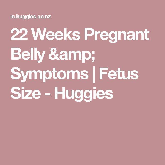 22 Weeks Pregnant Belly & Symptoms   Fetus Size - Huggies