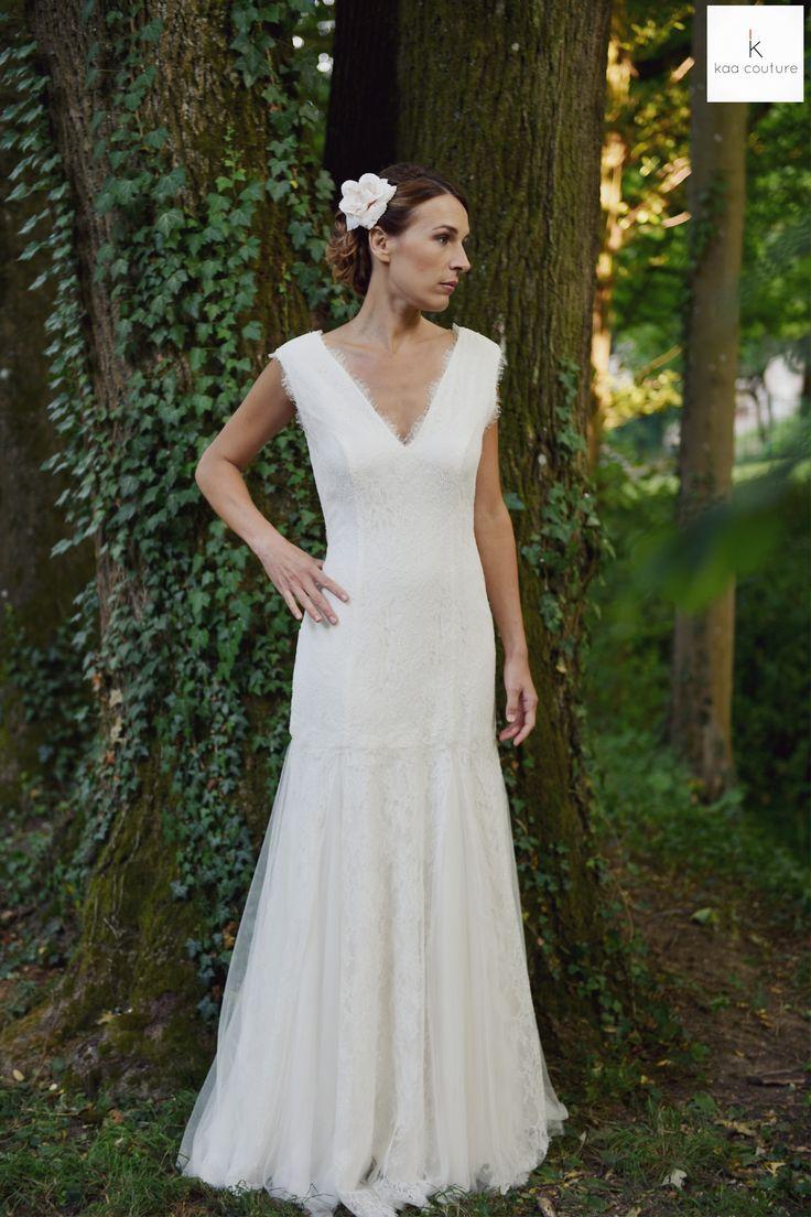 ... propos de kaa couture créatrice robe de mariée à lyon sur Pinterest