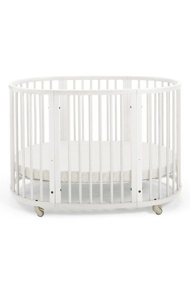 Free shipping and returns on Stokke Convertible 'Sleepi™' Crib & Toddler Bed at Nordstrom.com. A lovely beechwood crib grows in sync with your little one to form a comforting, seamless sleep environment for those first years. Beginning as a rolling full-sized crib, it converts to a stationary toddler bed when you remove the wheels and the side panel. One kit, two beds—that's the beauty of the Sleepi concept, a masterpiece of minimalist Scandinavian design.