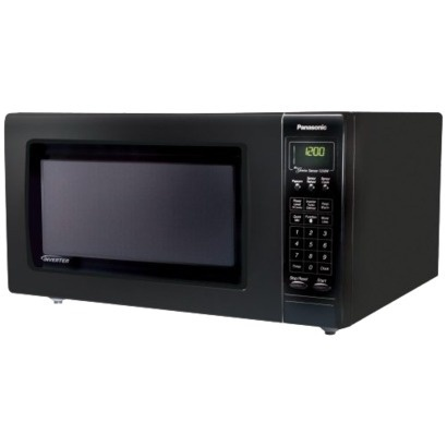 Panasonic 1250watt Microwave Oven With Sensor Cook Black Nnh765bf With Images Microwave Oven Kitchen Microwave