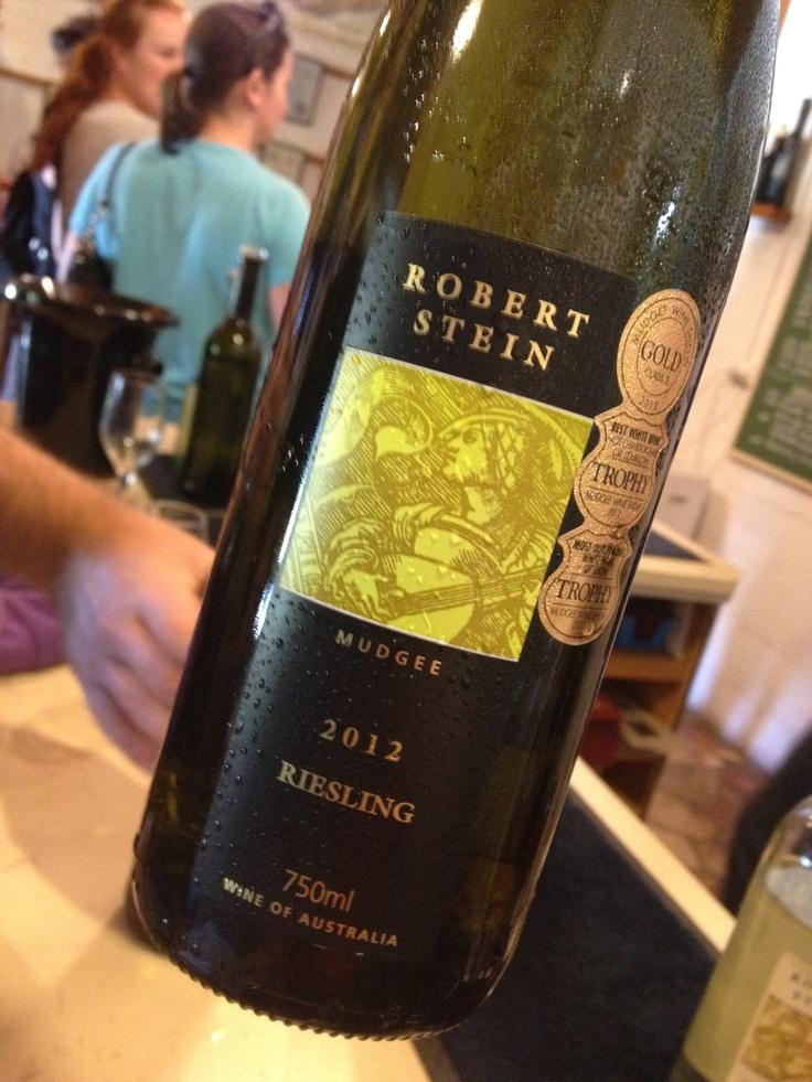 Trophy winning riesling from Robert Stein in Mudgee #wine #riesling