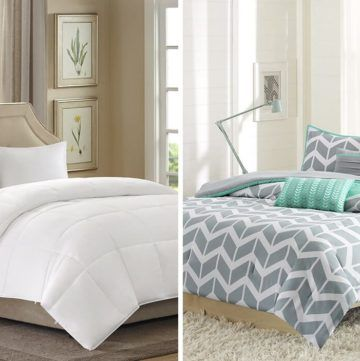 Difference Between Duvet Vs Comforter Overstock Com Comfort Mattress Bedding Deals Home Decor