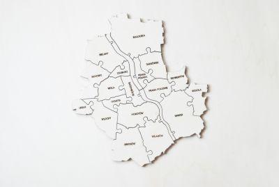 Puzzle+Warszawa+z+napisami // LOKALNY