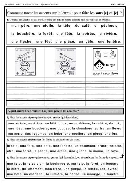 Pour tenter de remédier aux difficultés en orthographe, voici une série de documents qui s'adressent principalement à des élèves de cycle 3 en difficulté. BILAN en Orthographe : (3 documents à télécharger) Document 1 : Compétences à évaluer Document 2...
