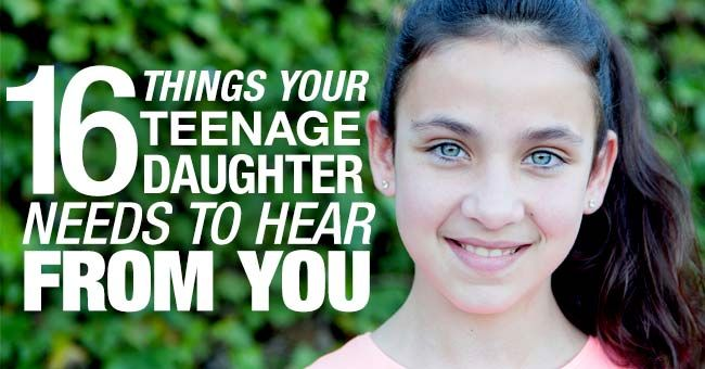 Encouragement for your  daughter