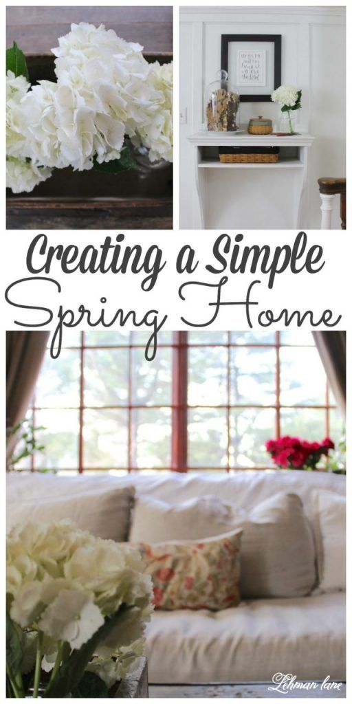 Sharing my Spring home tour with over 20 of my blogging friends. Stop by to see how I create a simple spring tour! #spring #hometour http://lehmanlane.net
